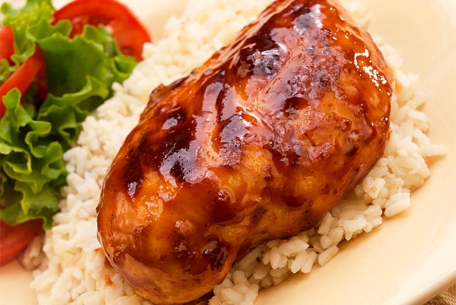 Jamaican-Style Grilled Barbecue Chicken Breasts Image 1