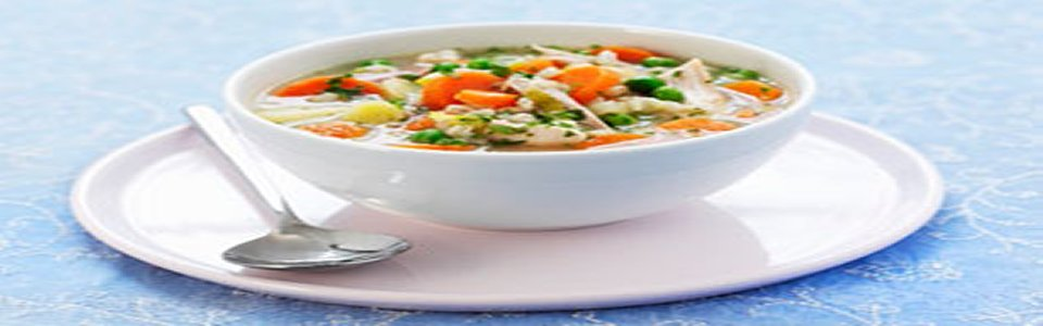 Chicken Vegetable Soup with Orzo Image 2