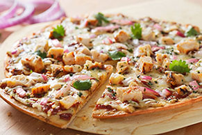 Texas-Style Barbecue Chicken Pizza