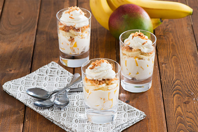 Creamy Tropical Parfait Image 1