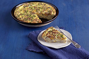 Cheddar, Bacon & Potato Frittata