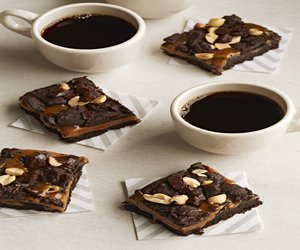 Chocolate-Caramel Cookie Bars