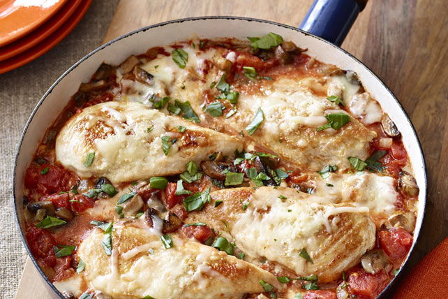 Saucy Chicken Parmesan Skillet Image 1
