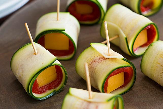 Zucchini Ribbon Roll-Ups Image 1