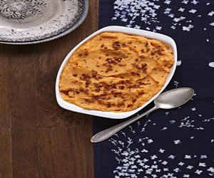 Chive & Onion Sweet Potato Mash