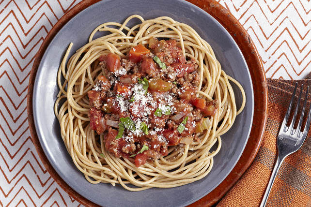 Slow-Cooker Spaghetti Bolognese Image 1