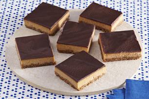 Layered Pumpkin-Chocolate Cheesecake
