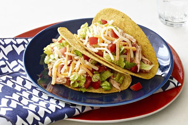 Tacos au poulet à la mijoteuse Image 1
