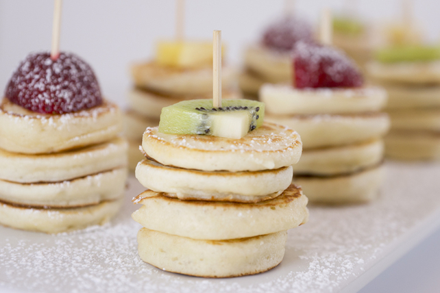 Mini Pancake Stacks Image 1