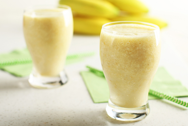 Fresh Banana Smoothie Image 1