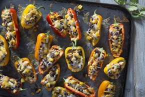 Mini Stuffed Pepper Appetizers