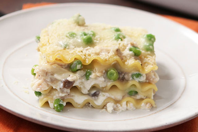 Cheesy Tuna Lasagna