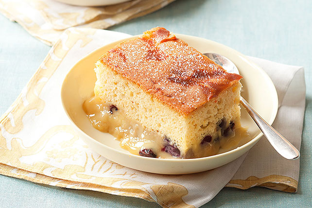 Blueberry Pudding Cake Image 1