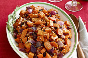 Maple Roasted Sweet Potatoes & Carrots