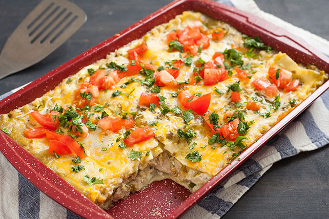 Green Chile-Chicken Lasagna