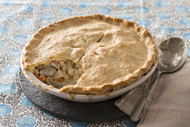 Chicken and Bacon Pot Pie Image 1