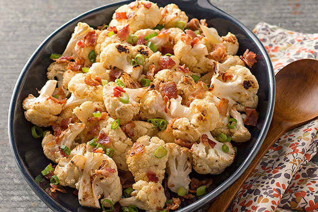 Bacon-Ranch Roasted Cauliflower Image 1