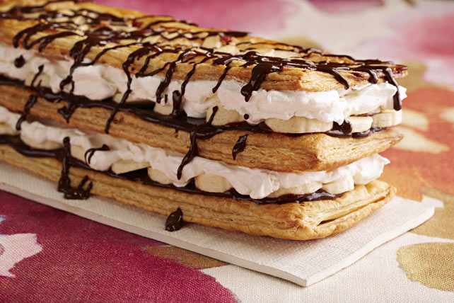 Chocolate-Banana Napoleon