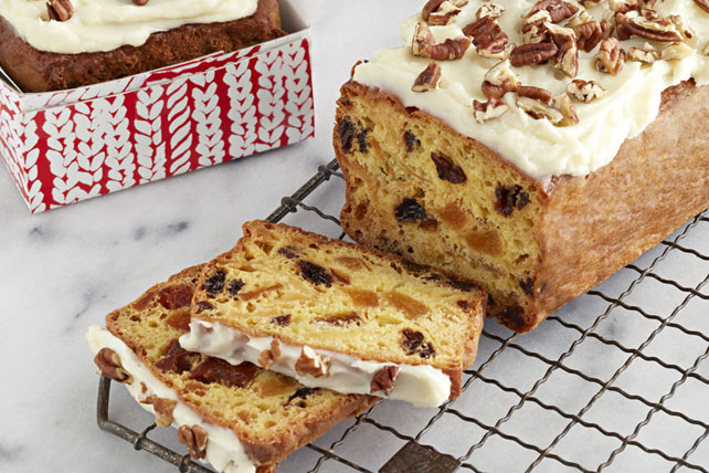 Easy Super Moist Fruitcake Recipe Kraft What S Cooking