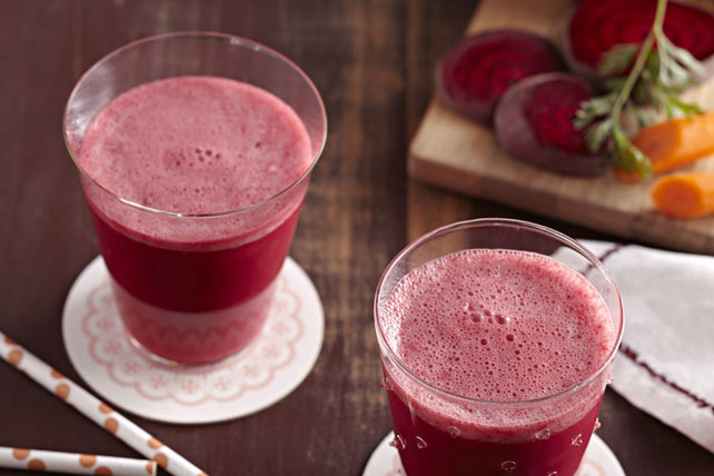 Beet-Orange Smoothie Image 1