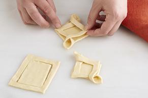 Mini-feuilletés au jambon et au fromage Image 2