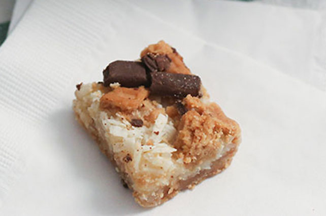 Easy Chocolate-Peanut Butter Cookie Bars Image 1