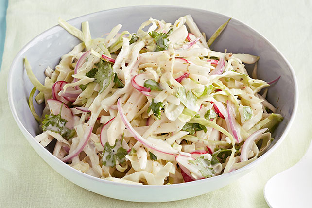 Creamy & Colorful Coleslaw Recipe