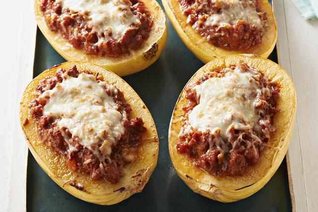 Lasagna-Stuffed Spaghetti Squash Image 1