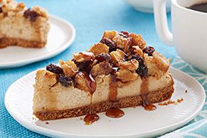 Cheesecake con capirotada