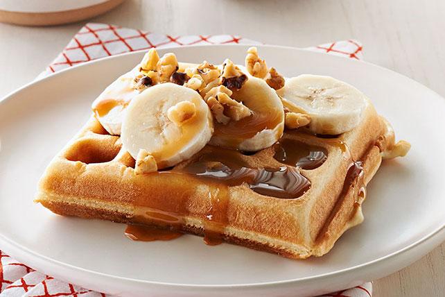 Banana Waffle Recipe Image 1