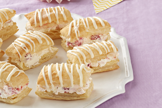 Raspberry-Lemonade 'Cream Puffs'