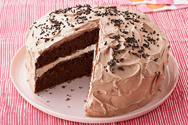 Chocolate Cream Cake Image 1