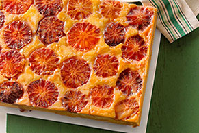 Blood Orange Upside-Down Cake