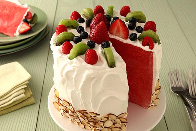 Pastel de sandía Image 1