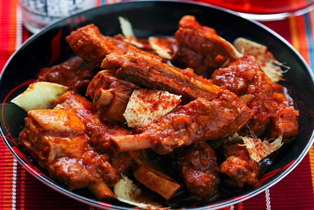 Spicy Ribs with Ginger