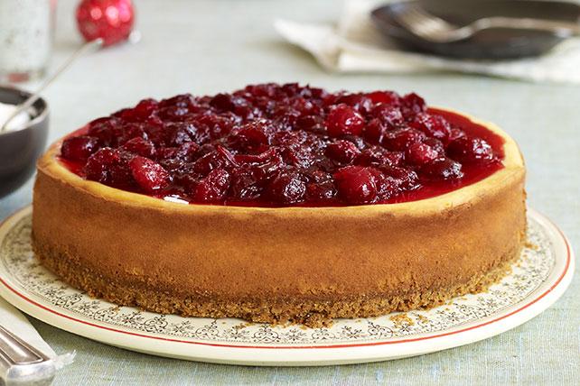 Cheesecake de canela y arándanos rojos Image 1