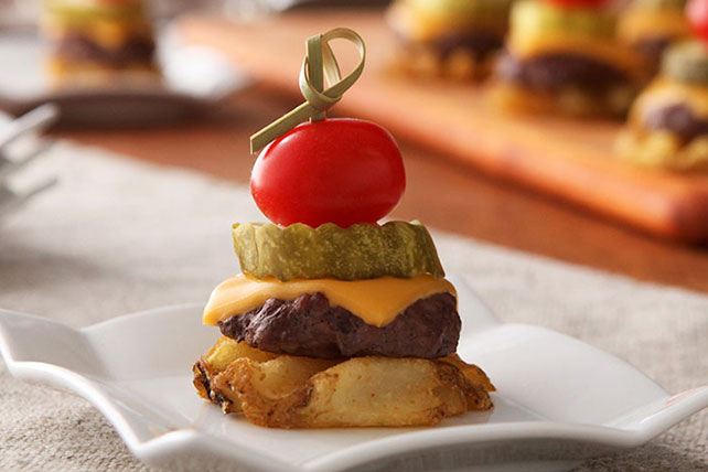 Burger & Fries Appetizer