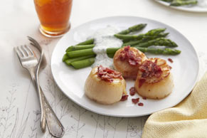 Seared Sea Scallops for Two