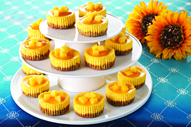 Mini Mango Cheesecake Cups Image 1