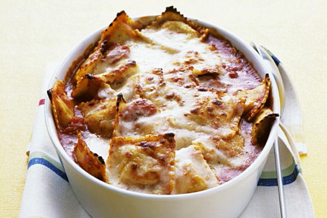 Baked Ravioli with Parmesan Image 1