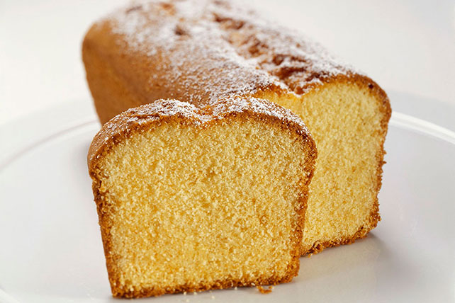 Lemon-Ginger Loaf Cake
