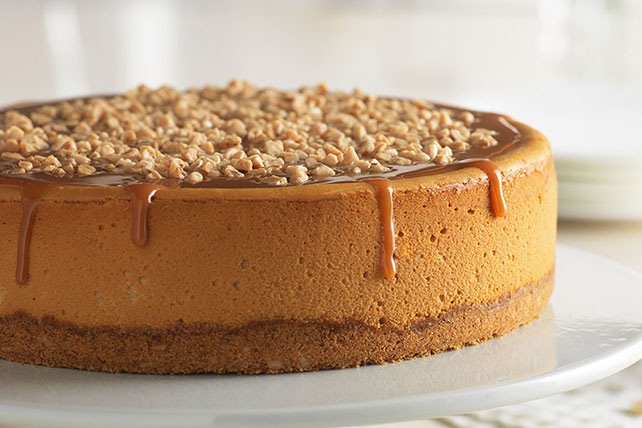 Triple-Caramel Cheesecake