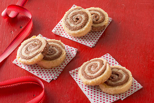 Chocolate-Coconut Pinwheels