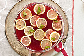 Pomegranate-Lemonade Punch
