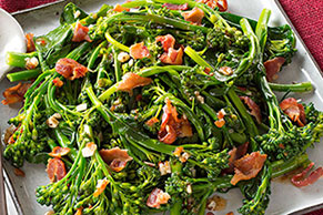 Sautéed Broccolini with Bacon