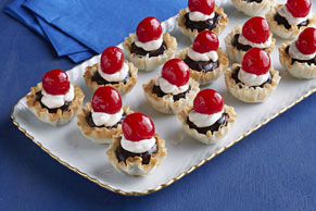 Mini Black Forest Tartlets