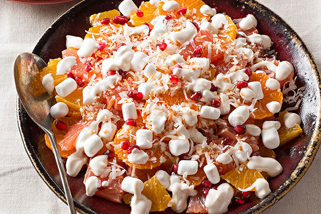 how to make simple ambrosia salad