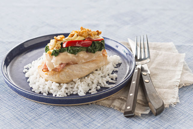Cordon Bleu Chicken Casserole Image 1