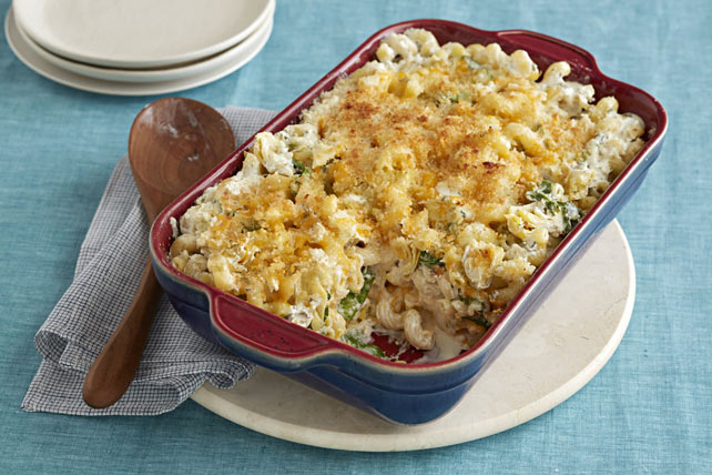 Artichoke Mac and Cheese Image 1