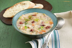 Chunky White Bean & Vegetable Soup